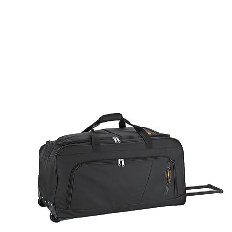 Bolsa de viaje con ruedas Negro Maleta 74cm Gran Capacidad 96L