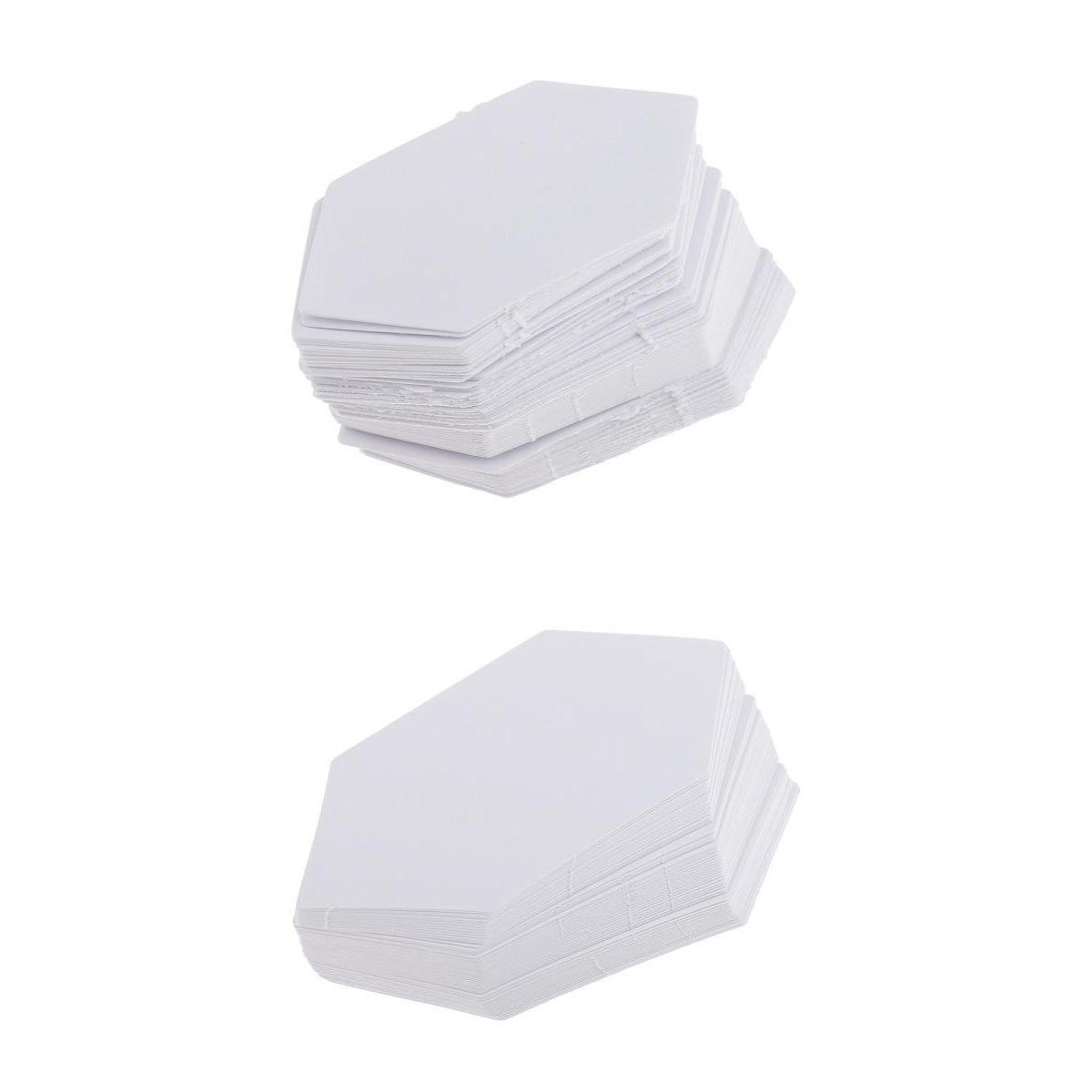 MagiDeal 200 Piece Hexagon Paper Quilting Templates English Paper Piecing Patchwork Template 4.2/7.9cm