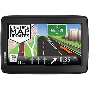 This Item Tomtom Via M World Traveler Edition  Inch Portable Touchscreen Car Gps Navigation Device Lifetime Us Canada Mexico And Europe Maps
