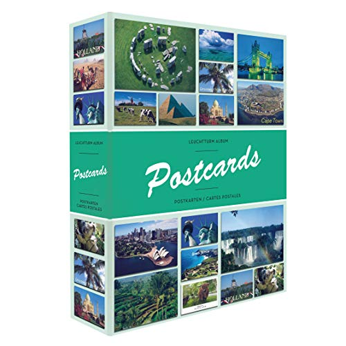 - LEUCHTTURM1917 Album Postcards for 200 Postcards, with 50 Bound Sheets