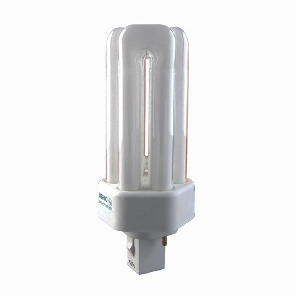 USHIO 3000226 cf42te / 865 42ワットt4t CFL、トリプルチューブ、gx24q-4ベース、135ボルト12パック B077PQ7DWV