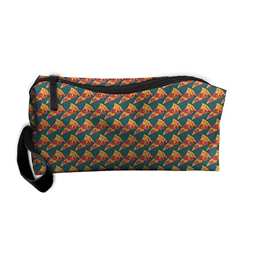 Price comparison product image Ham Pizza Storage Cosmetic Bag Portable Travel Makeup Bag Packing Pouches