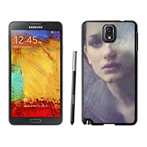 Beautiful Custom Designed Cover Case For Samsung Galaxy Note 3 N900A N900V N900P N900T With Girl Behind the GlaS4 Phone Case