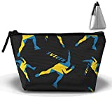 Short Track Speed Skating Sweden Flag 3D Print Women Cute Trapezoid Receive Bags Comestic Bags