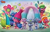 Trends International Trolls Group Wall Poster 22.375' x 34'