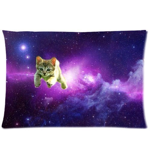 Lovely Universe Pillowcase Zippered Printed