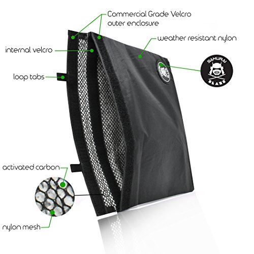 Smell Proof STASH BAG - Activate Carbon Lining Technology - Odor and Aroma  Locking Storage For Recreational and Medicinal Use - Great For Weed Pipes