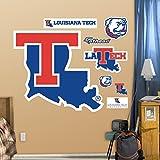 NCAA Louisiana Tech Bulldogs Logo Wall Graphic