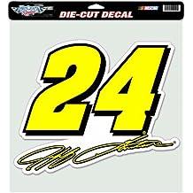 NASCAR Jeff Gordon 12-by12 Die Cut Decal