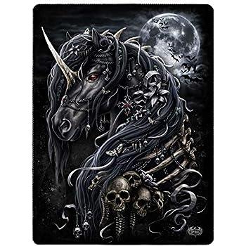 Spiral Direct BABY UNICORN Fleece Blanket//Gothic//Xmas//Unicorn//Throw Blanket
