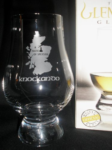 Knockando''A Taste of Speyside'' Glencairn Single Malt Scotch Whisky Tasting Glass by Glencairn