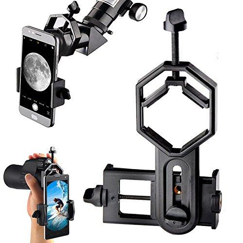 Camera Lens Adapter 48MM Black Aluminium Alloy Telescope to for Sony NEX Mount Mirrorless Camera Adapter Ring
