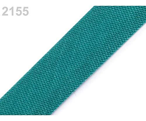 129.6m 2155 Atlantis Satin Bias Binding Width 15mm Folded, Haberdashery