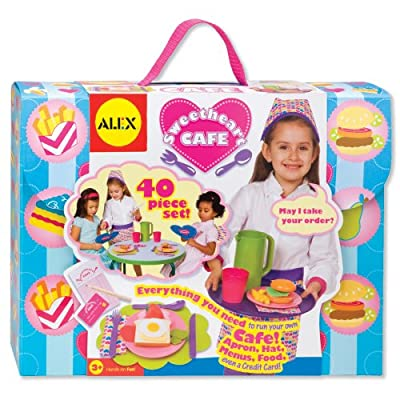 Alex Toys Sweetheart Caf Lets Play Restaurant Set from Alex