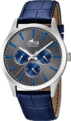 Lotus Minimalist 18576/3 Mens Wristwatch Design Highlight