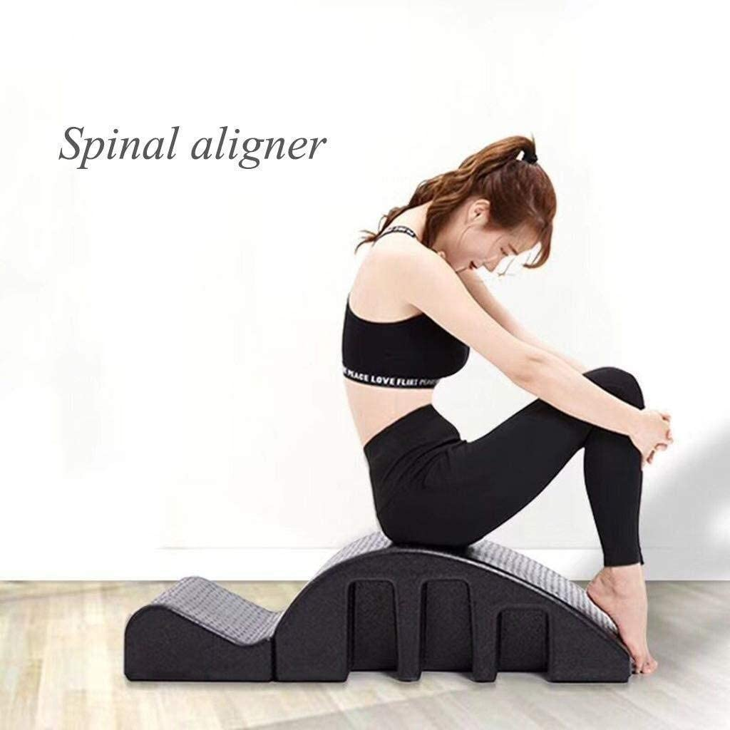 Amazon.com: Spine Corrector Yoga Pilates Massage Bed Spine ...