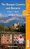 Front cover for the book The Basque Country and Navarre: France - Spain (Bradt Travel Guides) by Murray Stewart