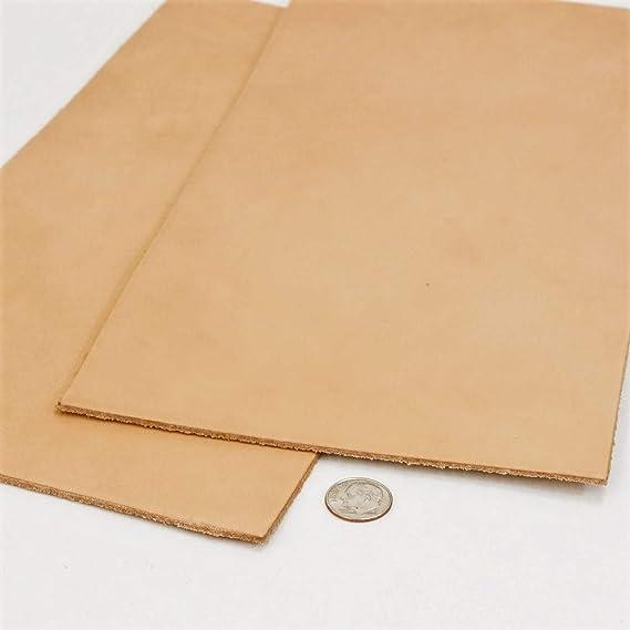 Springfield Leather Company Pre-Cut Hermann Oak 12x24 Black Tooling Leather 8-11oz