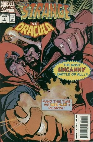 Dr. Strange Vs. Dracula Vol 1 No 1