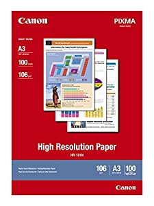 HR-101NA3 100 Sheets 110 GSM High Resolution Paper