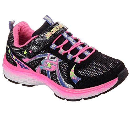 Skechers Groovies Girls Sneakers Black/Multi 11 Little Kid