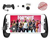 Mobile Game Controller and Gamepad, Controller for Android/Controller for IOS, Sensitive Shoot and Aim Trigger Fire Button, Gamepad for Fortnite/PUGB / Rules of Survival