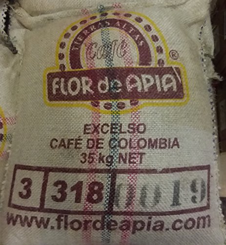 Colombian Green coffee Bean Special Micro Lots 100% Arabica Coffee Beans (77 Lb) by Micro lots # 126