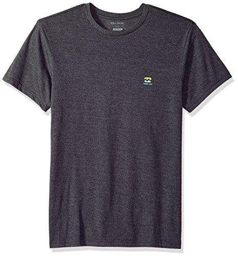 - Billabong Men's Free 73 T-Shirt Black Heather Small