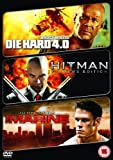 Action Packed Triple (die Hard 4.0/hitman/the Mari [Import anglais]