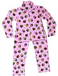 Girls' Pajama Coat Set Comfy Warm Microfleece Kids' Pjs