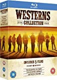 Westerns Collection (The Searchers, Pale Rider, The Wild Bunch, Rio Bravo, How the West Was Won) [Blu-ray] (Region Free)