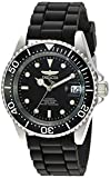 Invicta Men's 'Pro Diver' Automatic Stainless Steel Casual Watch, Color:Black (Model: 23678)