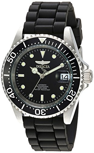 Titanium Invicta Bracelet - Invicta Men's Pro Diver Automatic-self-Wind Watch with Stainless-Steel Strap, Black, 19 (Model: 23678