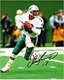"Dan Marino Miami Dolphins Autographed 8"" x 10"" vs New York Jets Photograph - Fanatics Authentic Certified"