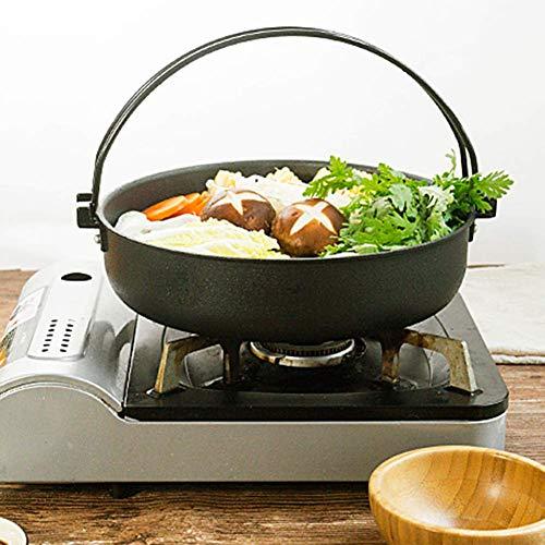Soup Pots Anodized Hot Pot Frying Pan Earthenware Non-Stick Kitchen Portable Handles Cookware,26Cm