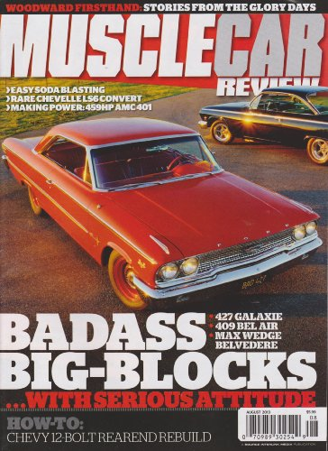 Muscle Car Review Magazine August 2013
