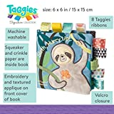 Taggies Touch & Feel Soft Cloth Book with Crinkle