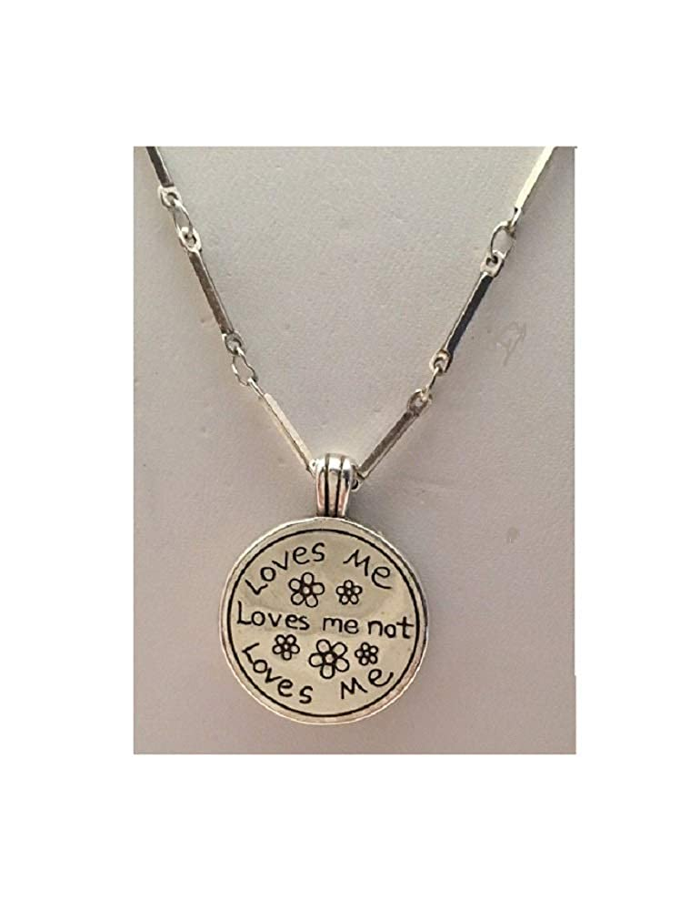 Brighton Loves Me Loves me Not Gold Silver Necklace /…