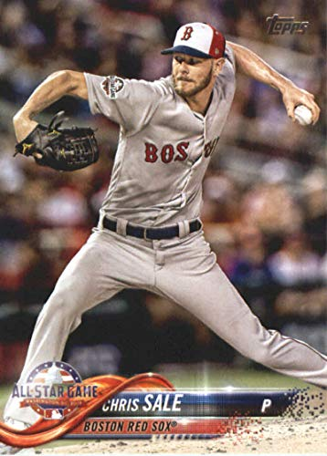 Sale Chris Baseball (2018 MLB Topps Update US101 Chris Sale Boston Red Sox Official Baseball Trading Card)