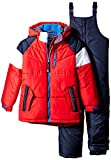 Rothschild Little Boys' Athletic Snowsuit, Red, Large/7