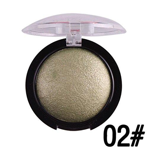 Yoyorule Women Hot Sale Professional Blush Palette Face Makeup Baked Cheek Color Blusher Eye shadow (02#)