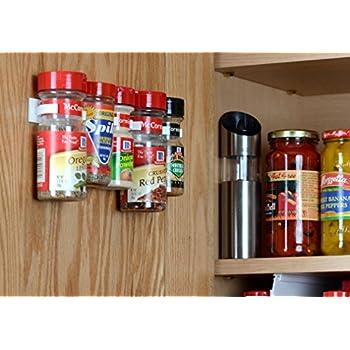 Amazon Com Spicestor Organizer Rack 20 Cabinet Door Spice