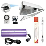 Cheap Hydroplanet™ Double Ended Air Cooled Hood Hydroponic Grow Lights Kit DE Reflector Hood With Dimmable Digital Ballast HPS LAMPS Horticulture Plant Grow System Set¡­
