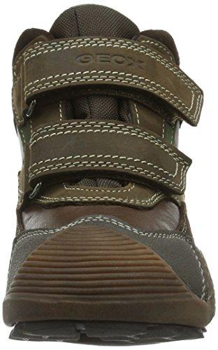 Geox Junior Savage ABX J Navy Suede, color marrón - Braun (COFFEE/BEIGEC0083)