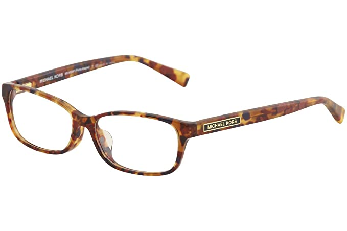 f0972d5ad0 Michael Kors MK4024F Eyeglass Frames 3066-55 - Brown Tortoise at Amazon  Women s Clothing store