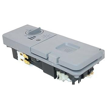 Spares2go jabón cajón dispensador de Tablet para Whirlpool lavavajillas