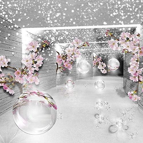 Forwall Fototapete Vlies Tapete Moderne Wanddeko 3d Magischer Tunnel Mit Blumen V8 368cm X 254cm Amf3360v8 Wandtapete Design Tapete Wohnzimmer Schlafzimmer Amazon De Kuche Haushalt