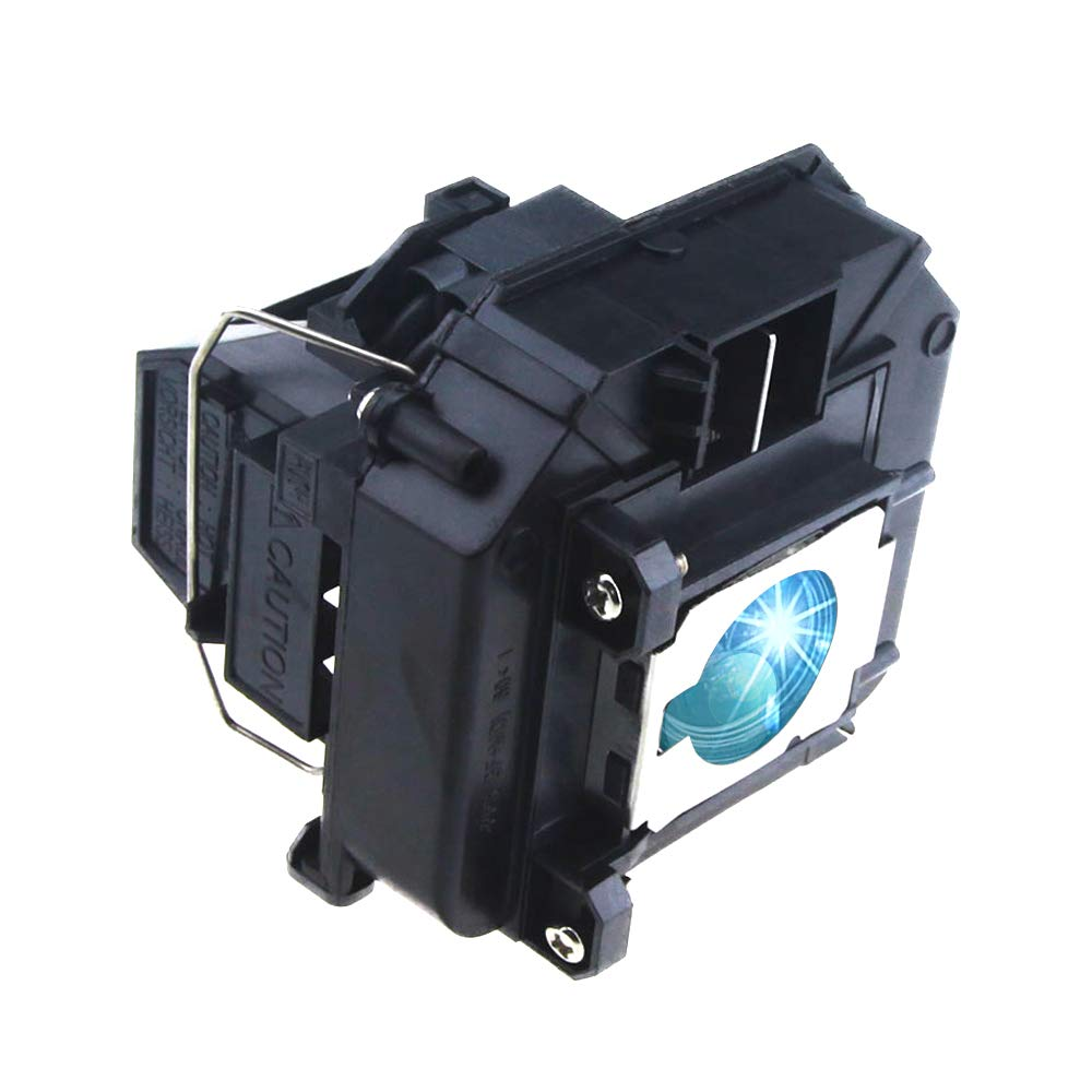 VS350W//VS410 Projectors V13H010L64 Replacement Lamp Bulb with Housing for Epson 1850W//1880//D6155W//D6250 Lanwande ELPLP64