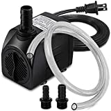 PULACO 400GPH Submersible Water Pump with 5 ft