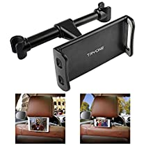 Car Headrest Mount, Tryone Car Seat Tablet Holder for iPad/Samsung Galaxy Tabs/Amazon Kindle Fire HD/Nintendo Switch/Other Devices 4-10.1